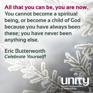 Eric Butterworth, Celebrate Yourself!
